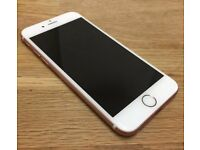 iPhone 6s rose gold 64GB unlocked to all networks