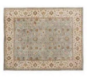 Pottery Barn Area Rug & deluxe rug pad