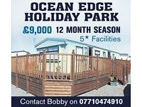 Static caravans for sale ocean edge holiday park ( private sale ) 12 month season Morecambe