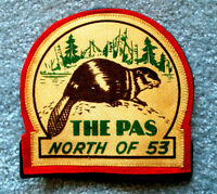 The Pas Manitoba North of 53 Large Jacket Patch