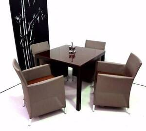 Outdoor/Indoor Dining 5pc Setting with Seating Cushions, Berwick Berwick Casey Area Preview