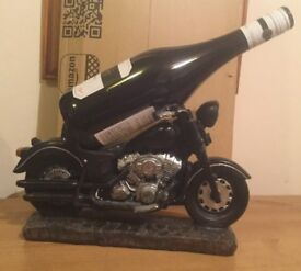 Classic Motorcycle Wine Bottle Holder