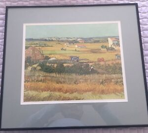"""The Harvest"" print - Vincent VanGogh (1853-1890) Kingston Kingston Area image 1"