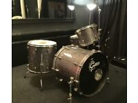 Gretsch Renown Maple - Silver Sparkle for sale with Hard Cases