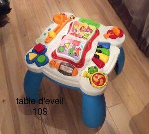 jouet, barrière, bébé et enfant
