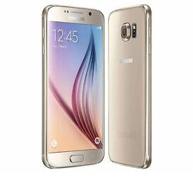 Galaxy s6 gold unlocked very good condition