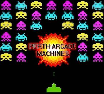 PERTH ARCADE MACHINES FULL RANGE IN STOCK BEST PRICES OPEN 7 DAYS