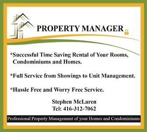 Property Manager Services-Easy Hassle Free Rentals