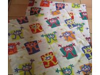2 IKEA Cot quilt covers 2 cases 1 quilt