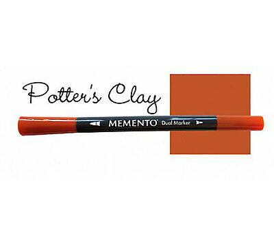 Memento - Dual Tip Marker - Potter's Clay - Rust