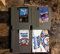 Nintendo games for sale.