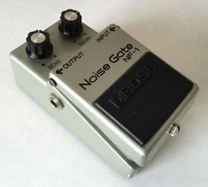 Boss Guitar Pedal Noise Gate 1985 made in Japan