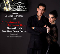 Argentine Tango Workshop in May