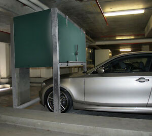 PARKING GARAGE STORAGE CONTAINER FOR HOME, CONDO OR APARTMENTS
