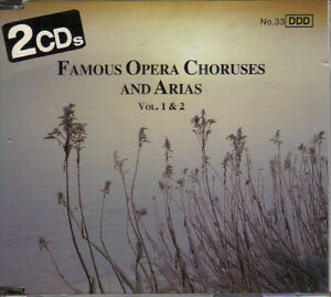 Famous Opera Choruses & Arias  - Vol. 1 & 2 (2 CDs) West Island Greater Montréal image 1