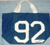 ABERCROMBIE & FITCH BLUE BAG FOR WOMEN