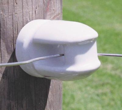 New Zareba Case 25 Mp-1929 Large Porcelain Electric Fence Insulators 6596191