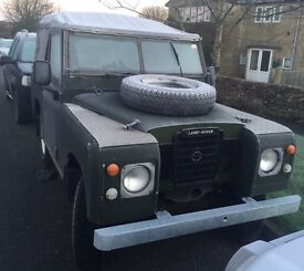 Series 3 Land Rover 1972