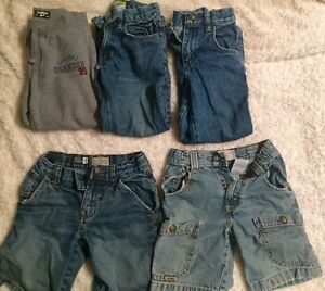 Brand name Jeans and shorts- boys size 6