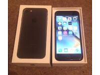 iPhone 7 128gb Black Boxed For Sale Open To All Networks