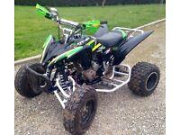 Yamaha 250 raptor quad bike (feel free to offer )