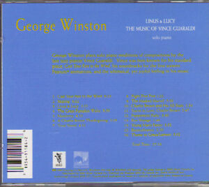 George Winston - Linus & Lucy - The Music of Vince Guaraldi West Island Greater Montréal image 2