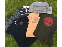 Men's clothes bundle, tops, jumpers, PJ's (S-M) including Calvin Klein, Jack Jones, Topman etc.