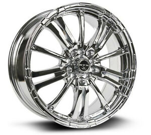 Roues (Mags) RTX Arsenic chrome  5-100 / 5-114.3