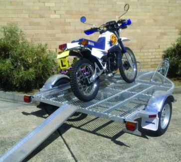 Seatrail 3xBike Trailer.ATM 749kg. FULL GALVANISED FRAME