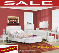 queen beds, dresser, chests, site tables, bed sets, mvqc, on sal