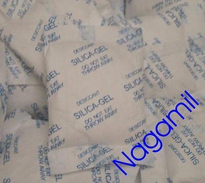 10x Silicagel Beutel 10 g, Trockenmittel, staubdicht verpackt, regenerierbar