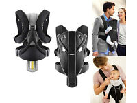Baby Bjorn Miracle carrier, black and grey