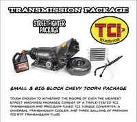 TCI 700R4 Transmission / Torque Converter Package - Chevy