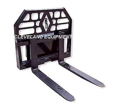 New 36 Mini Pallet Forks Frame Attachment Vermeer Finn Mini Skid-steer Loader