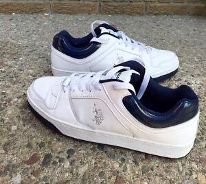 US POLO White Shoes Men's 10.5 $40