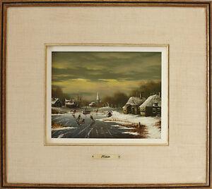 "Vintage Oil On Board Signed ""Kaiser"" 17"" X 19"" Gatineau Ottawa / Gatineau Area image 1"