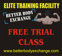 FREE TRIAL CLASS - Better Body Exchange
