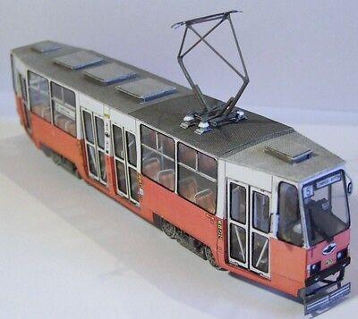 Modelik 09/14 - Strassenbahn Konstal Chorzow / Köningshütte Typ 105N  1:87 (H0)