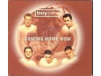 COLLECTION OF BOYZONE CDs