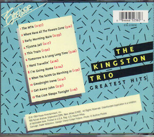The Kingston Trio - Greatest Hits West Island Greater Montréal image 2