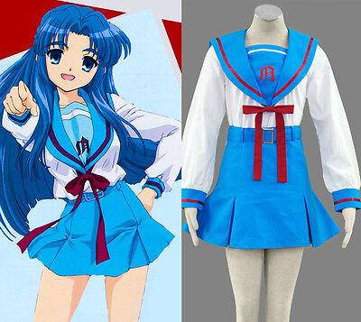 The Melancholy of Haruhi Suzumiya RYOKO ASAKU Cosplay Kostüm uniform Nagato - Suzumiya Haruhi Cosplay Kostüm