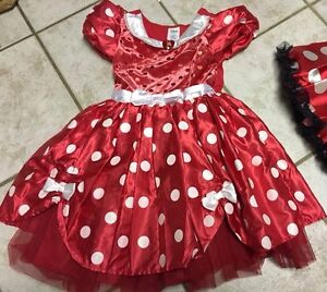 Girls- size8/10 costume & size 1 shoes
