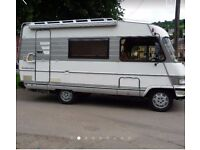 Wanted Hymer motorhome top cash prices
