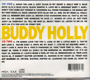 The Buddy Holly Collection (2 CDs) West Island Greater Montréal image 2