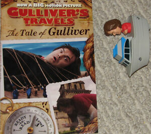 Guliver's Travels Book & Toy Figure