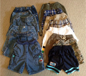Toddler SHORTS, size 24m/2T, 14 pairs