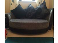 2 seater DFS entertainments sofa