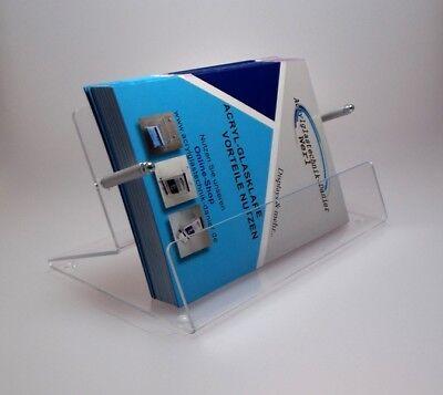 Prospektständer,Flyerständer DIN A 6 Querformat,Display