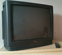 TOSHIBA Colour Television 2540XM + Samsung video cassette
