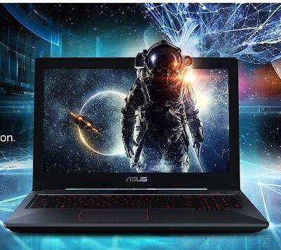 "ASUS ROG STRIX 17.3"" Gaming Laptop, intel i7, 2.8GHz, 1TB HDD, GTX 1050Ti  USB C"